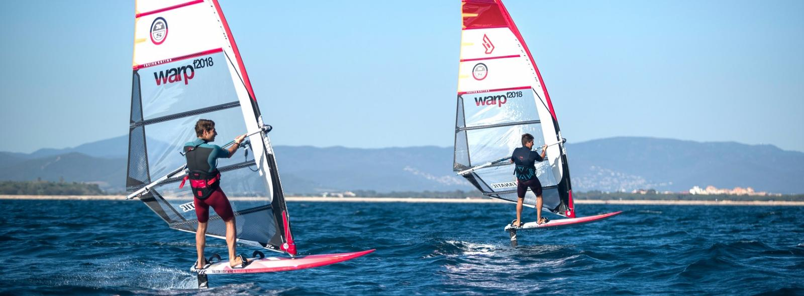 Apprendre le wind foil au ION CLUB de Rosas avec William Huppert 3