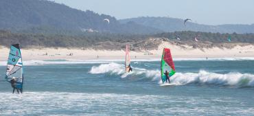 Partez au Portugal à Viana do Castelo en coaching windsurf avec Ronald RICHOUX